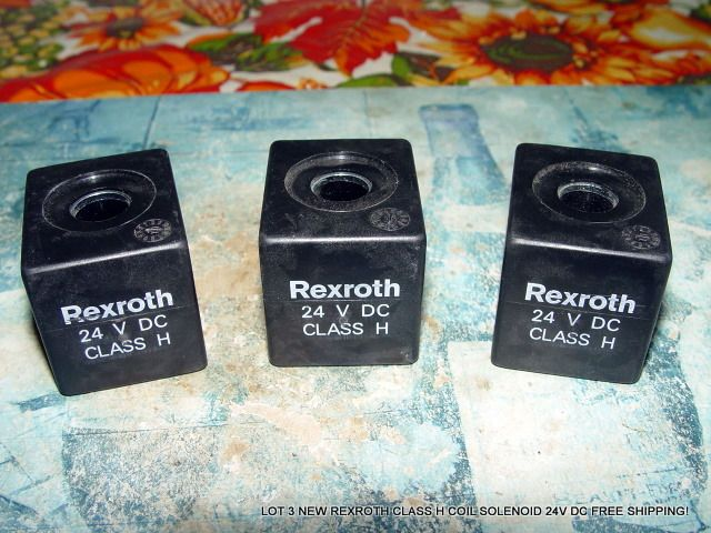 LOT 3 NEW REXROTH CLASS H #COIL #SOLENOID 24V DC