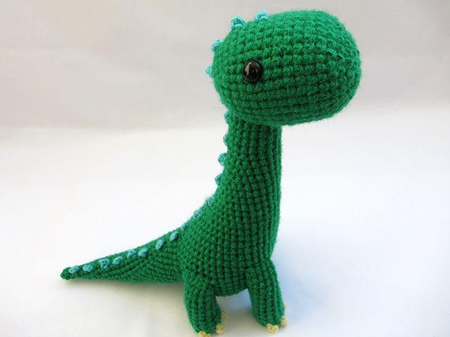 Brachiosaurus amigurumi dinosaur cute crochet dino | Amigurumi ...