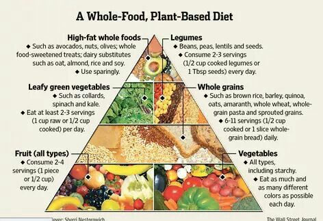 whole food plant based diet food guie