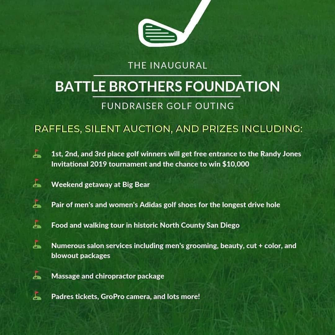Have You Heard Of All The Awesome Prizes Raffle And Silent Auction Items Available At The Battle Brothers Foundati Battle Brothers Silent Auction Fundraising