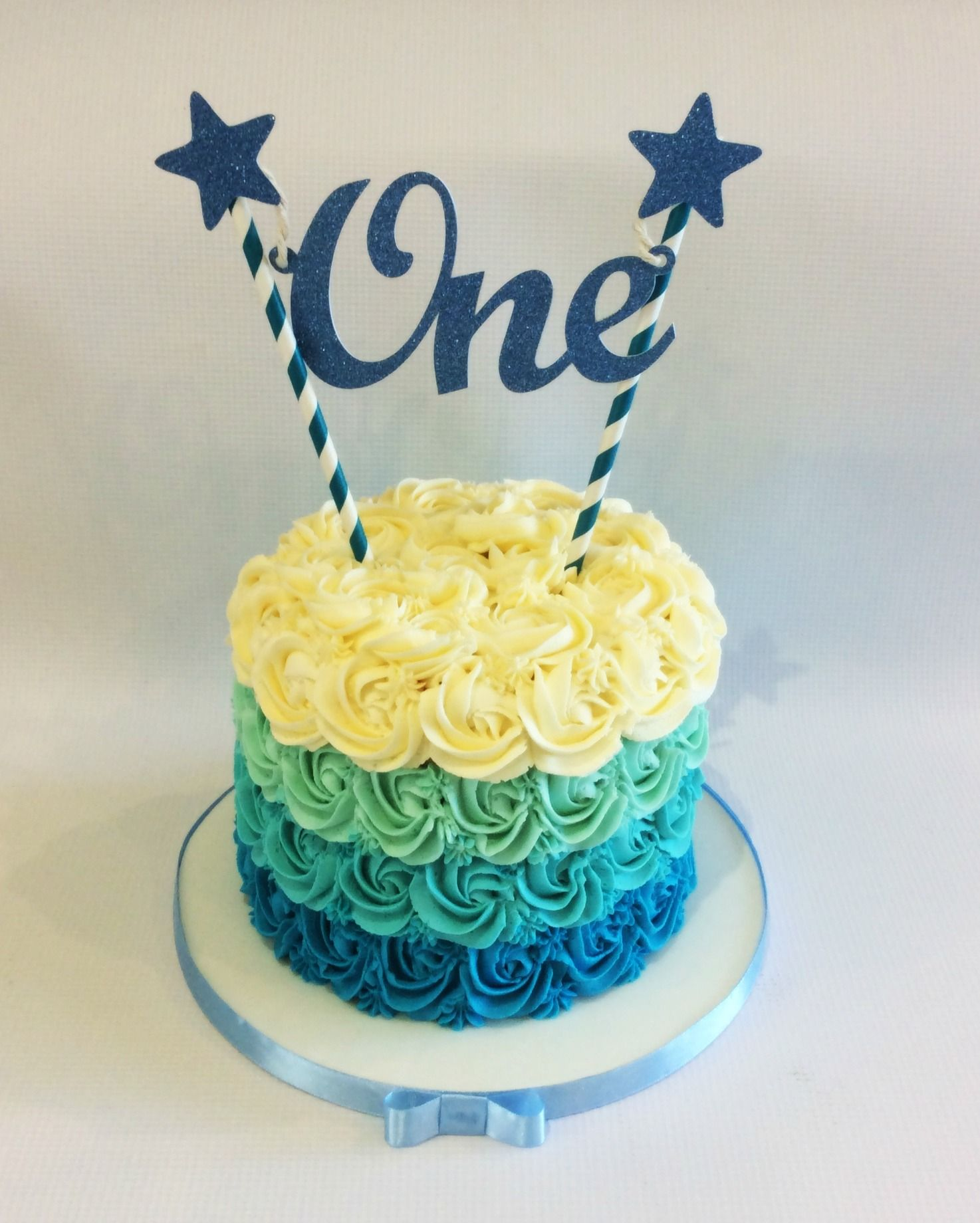 Boys first birthday smash cake....... | Cakes for Landry's ...