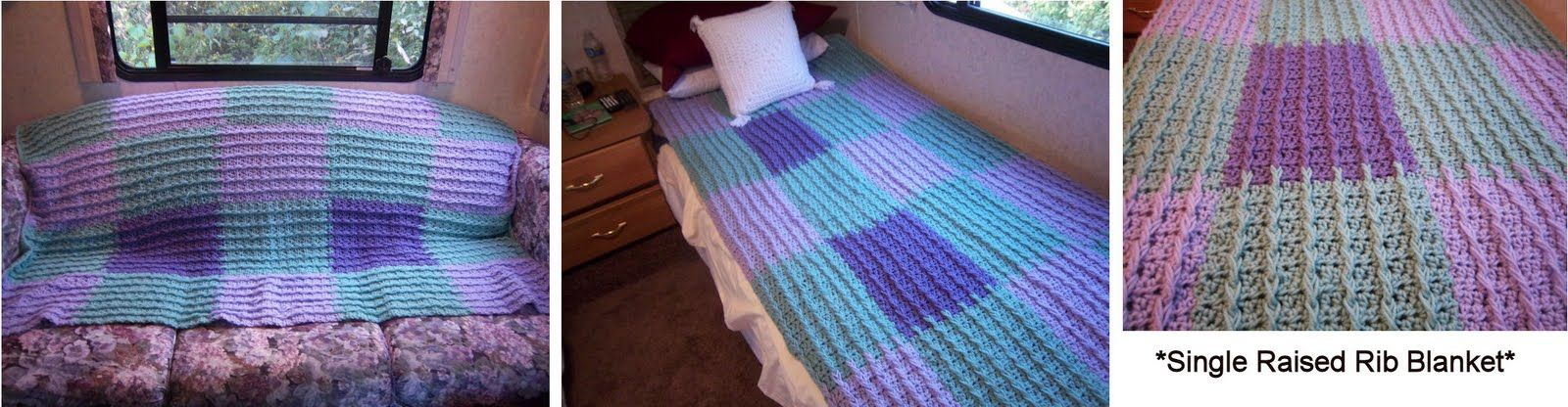 Twin size afghan blanket i used a raised rib crochet stitch twin size afghan blanket i used a raised rib crochet stitch pattern i dt1010fo