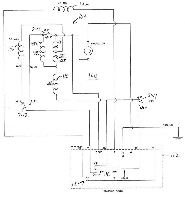 Car Diagram Wiring Forapacitor Start Motor New Single Throughout Starting Capacitor