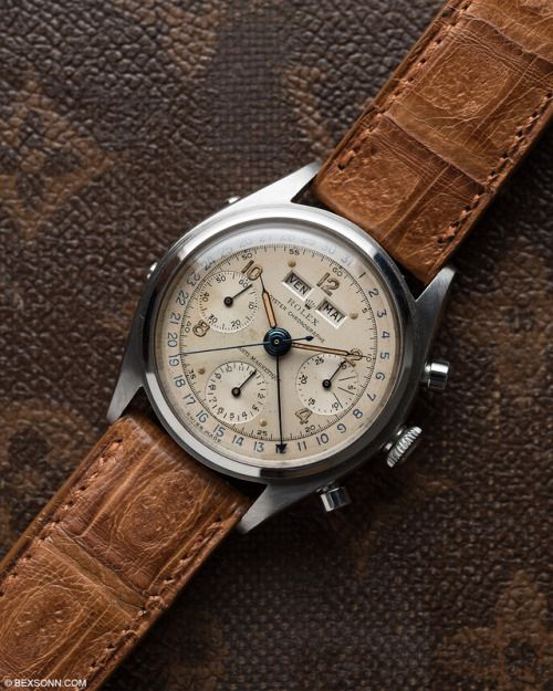 """bexsonn: """"The Rolex Dato-Compax """"Jean-Claude Killy"""" ref. 4767 """""""