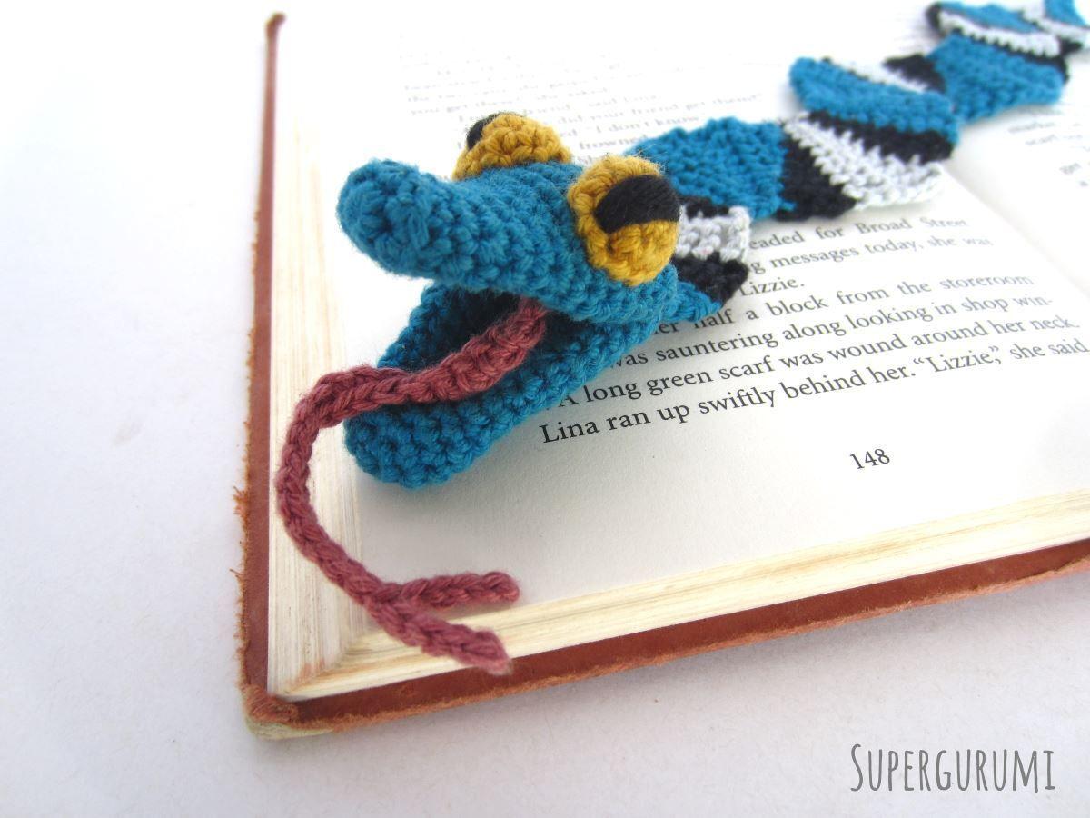 Amigurumi Lesezeichen Schlangen Häkeln Lesezeichen Pinterest