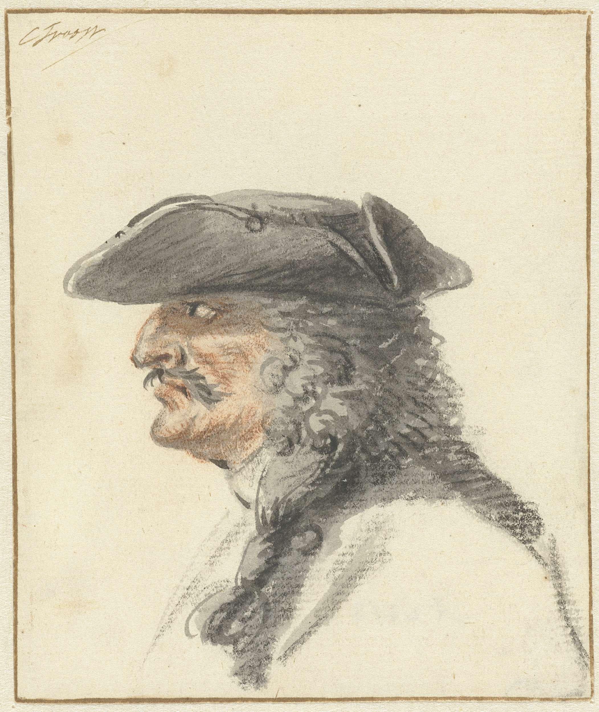 Cornelis Troost | De schout Wolfhart Grijpert, Cornelis Troost, 1715 - 1741 |
