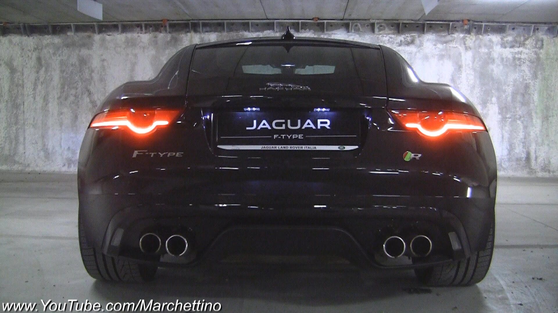 Cars: Jaguar F-Type R V8 [Video] | Exhausted and Cars
