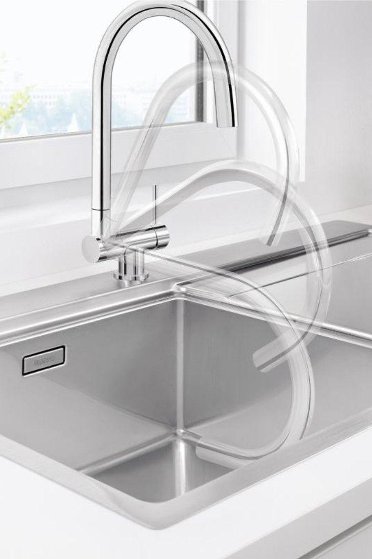 Blanco Coressa F Einhebelmischer Fur Vorfenstermontage 521543 Wasserhahn Kuche Waschbecken Gunstig Kuche Waschbecken