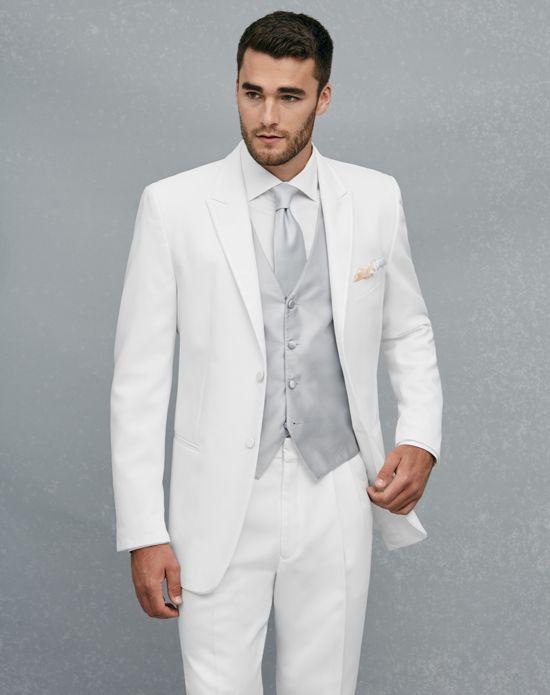 Jos. A. Bank Peak Lapel White Tuxedo White Tuxedo | WEDDING ...