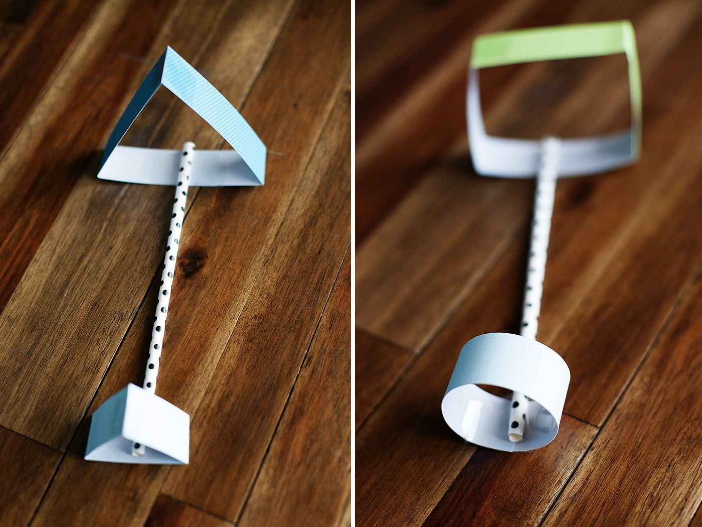 Straw Planes Made With Different Shapes So Easy To Make
