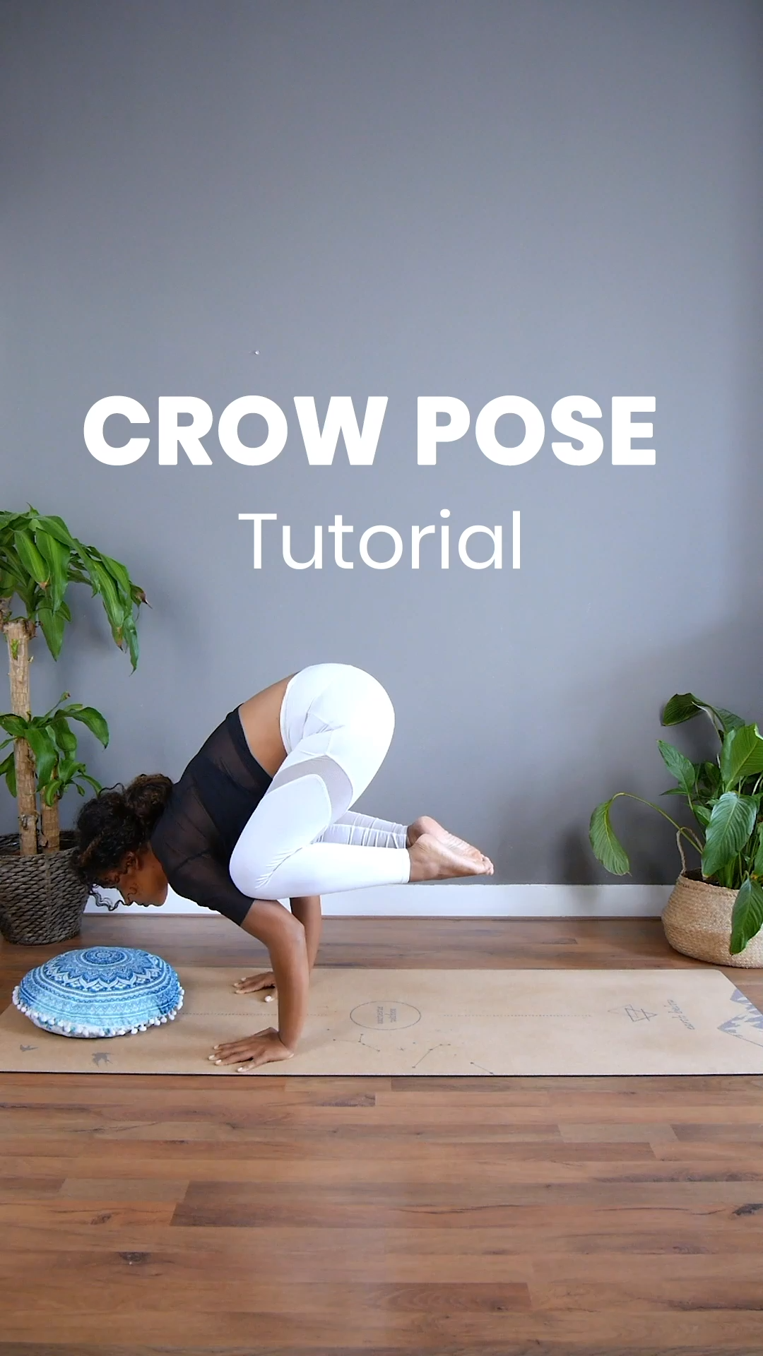 Here are 10 easy beginner postures to prepare your body to get in in to crow pose. Practice these postures step by step and you will increase your strength! Crow is a very advanced yoga pose so be aware that this may take days, weeks, or months to accomplish depending on how strong you are already. Be gentle and kind to your body and remember: Practice and all is coming #Yoga#YogaFacts#crowpose#crow#tutorial#yogaforbeginners#forbeginners#yogatutorial