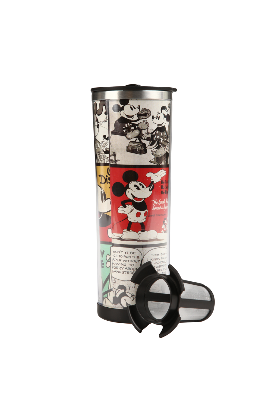 Mickey Mouse 'nomad traveller' flask #disney #mickey #flask #drink #typoshop | Cotton On
