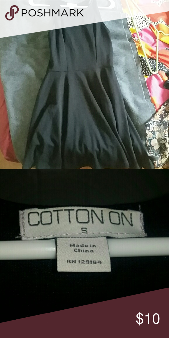 Cotton on skater dress Black skater dress great condition lightly worn Cotton On Dresses Midi