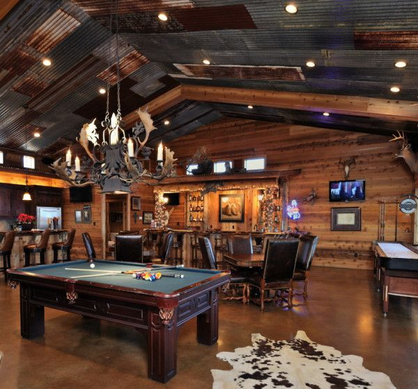 5 Cool Ideas To Turn Your Garage Into A Game Room Knockoffdecor Com Rustic Man Cave Best Man Caves Man Cave