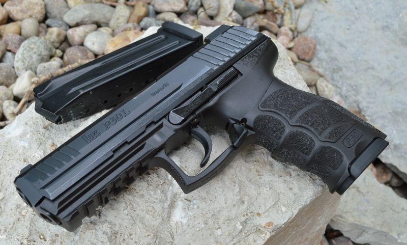 AllOutdoor: H&K Heckler & Koch P30L 9mm pistol review