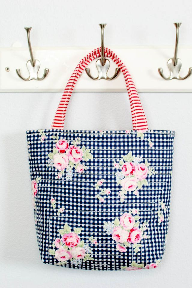 14 Free Tote Bag Patterns You Can Sew in a Day! (plus tips to make ...