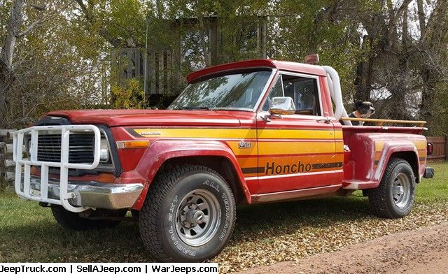 1980 Jeep J 10 Honcho Sportside Hard To Find 1980 Jeep J 10 Honcho