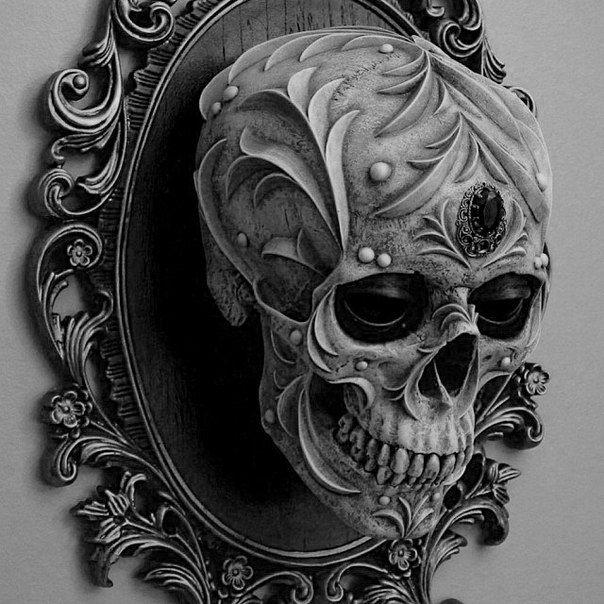 Human Jaw Tattoo: Skull, Skull Art, Skull Design