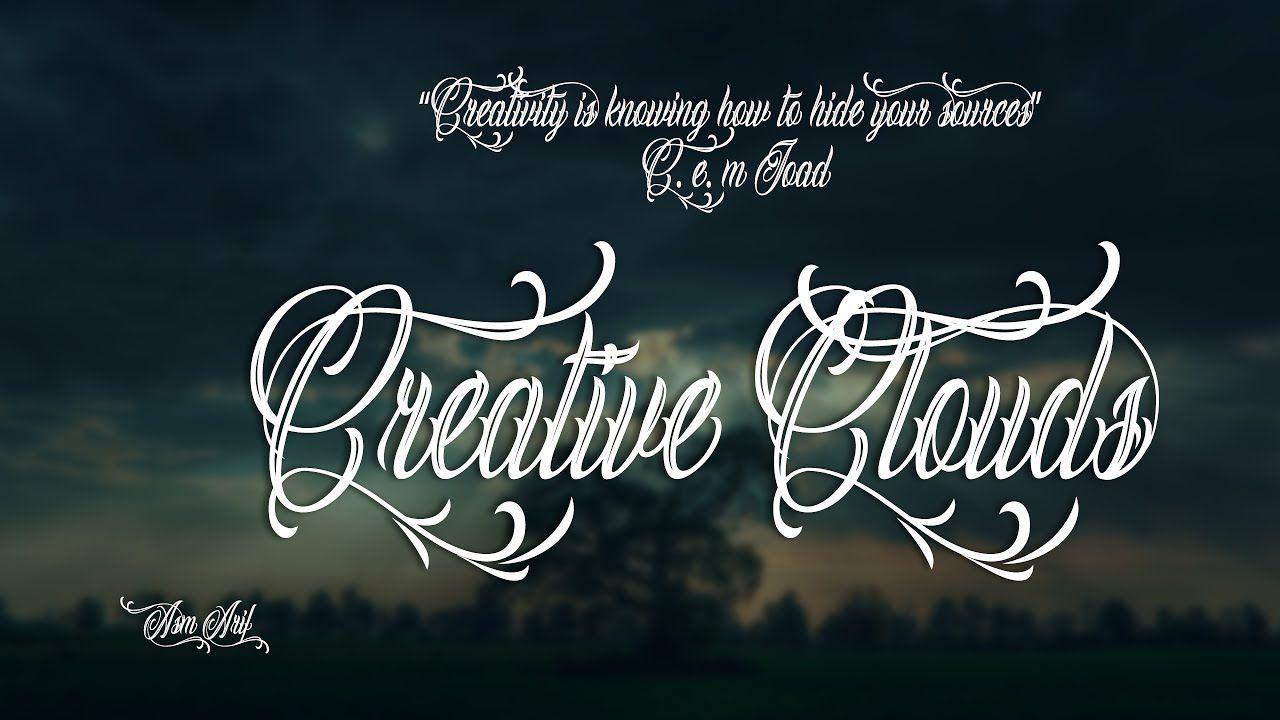 Photoshop install font