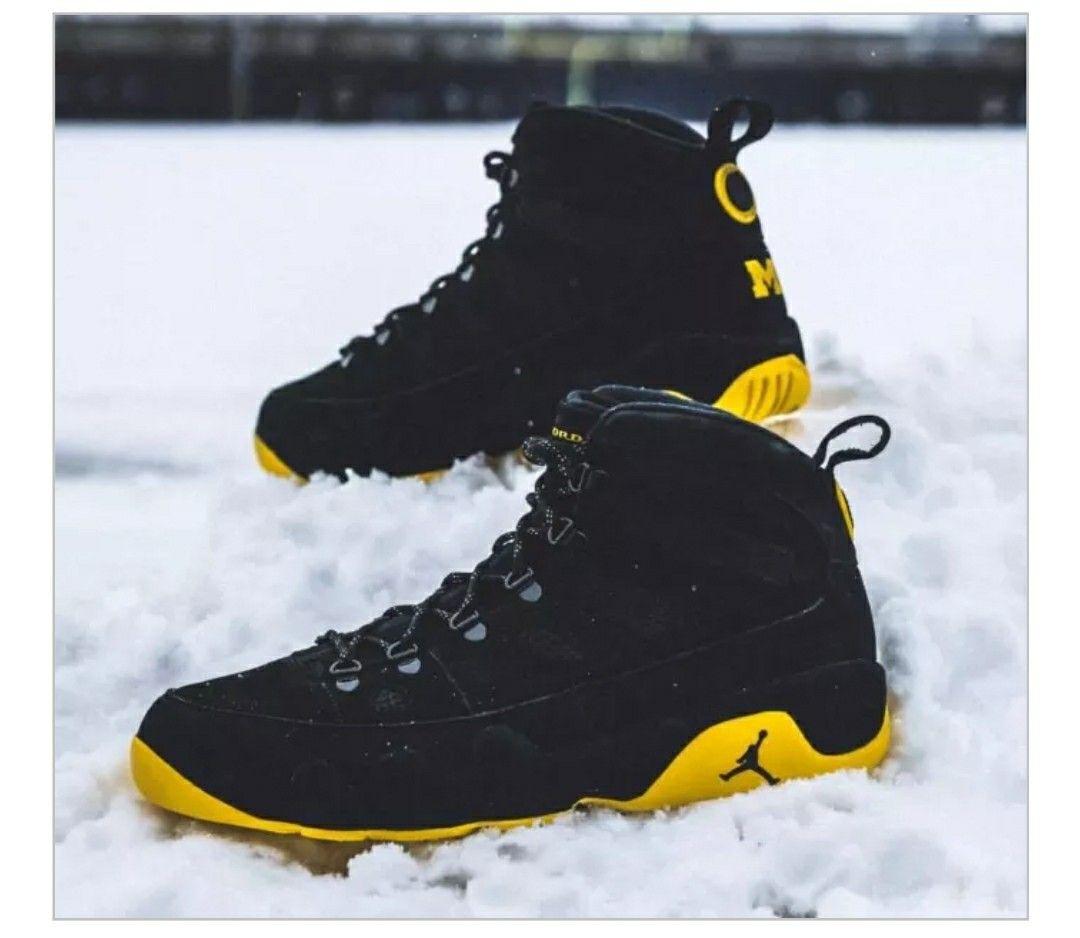 cheap for discount 3ef77 f7dd0 Air Jordan 9 Boot(Michigan Wolverines)