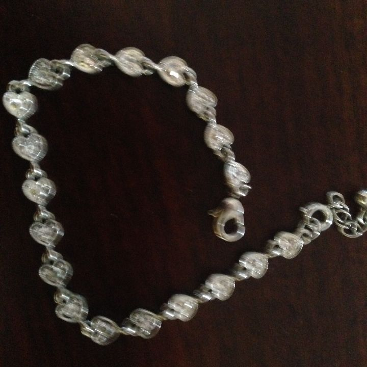 I just listed Heart bracelet ($3) on Mercari! Come check it out! http://item.mercariapp.com/gl/m588801034