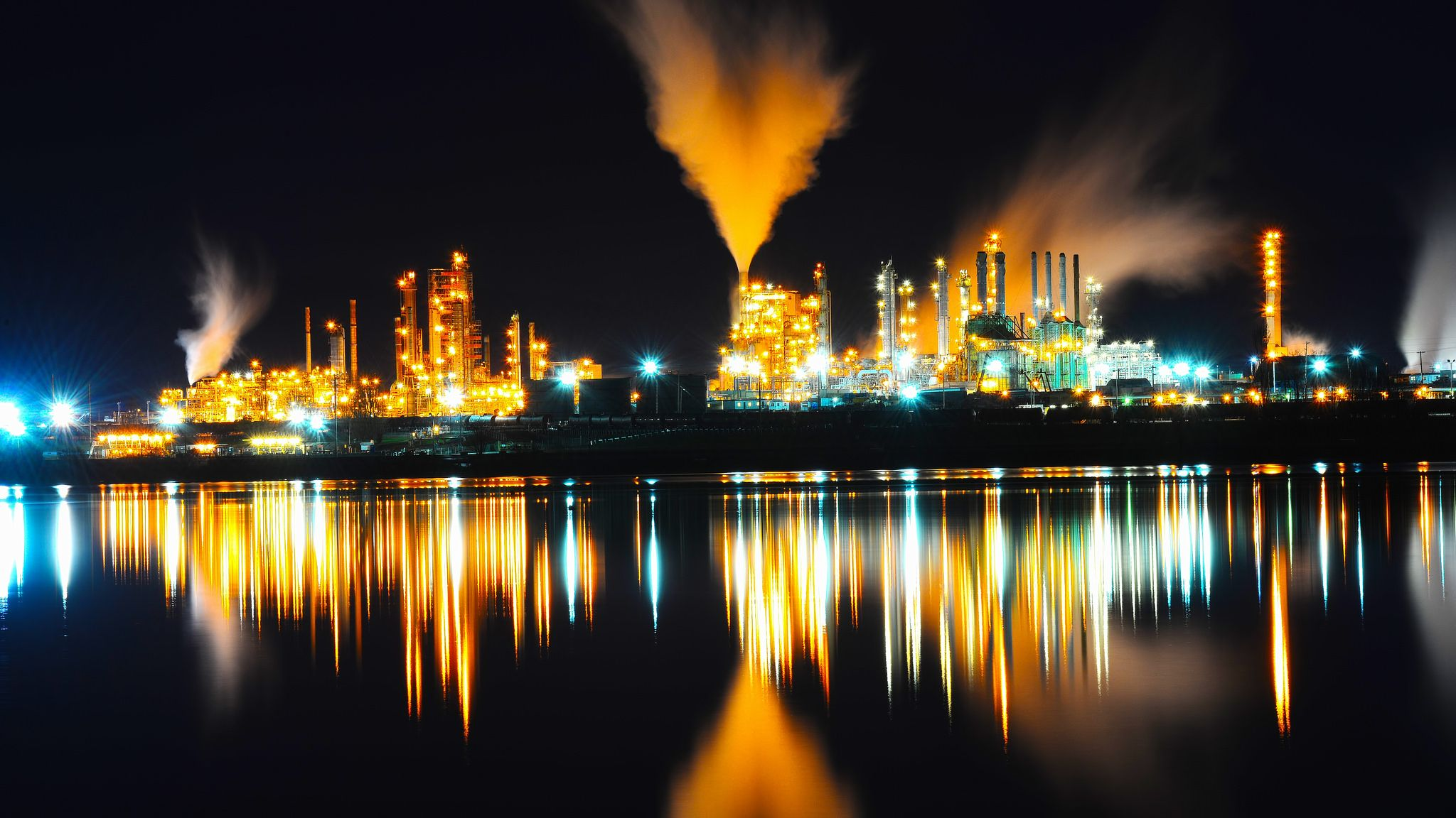 Anacortes Refinery, Washington State | by Don Briggs