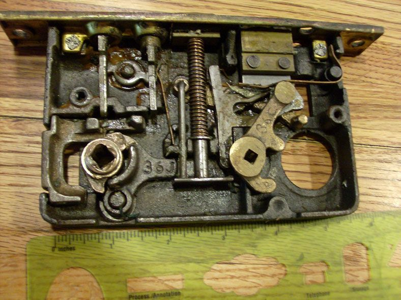 Cleaning And Repairing An Antique Mortise Door Lock Sell