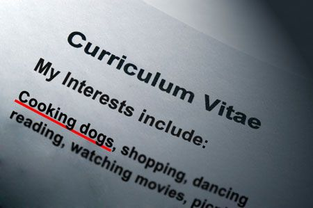 Living, Learning, Eating - So You Want A Job: Resume Bloopers ...