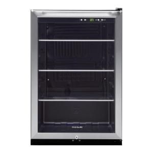 476 10 Frigidaire 138 12 Oz Can Capacity Beverage Center In Stainless Steel Ffbc46f5ls At The Home De Beverage Refrigerator Beverage Center Beverage Fridge