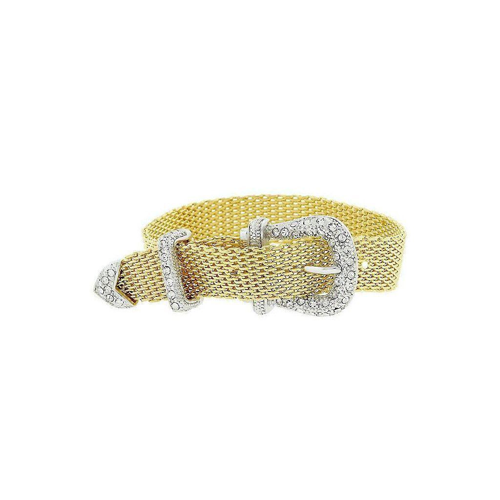 Gold Belt Bracelet