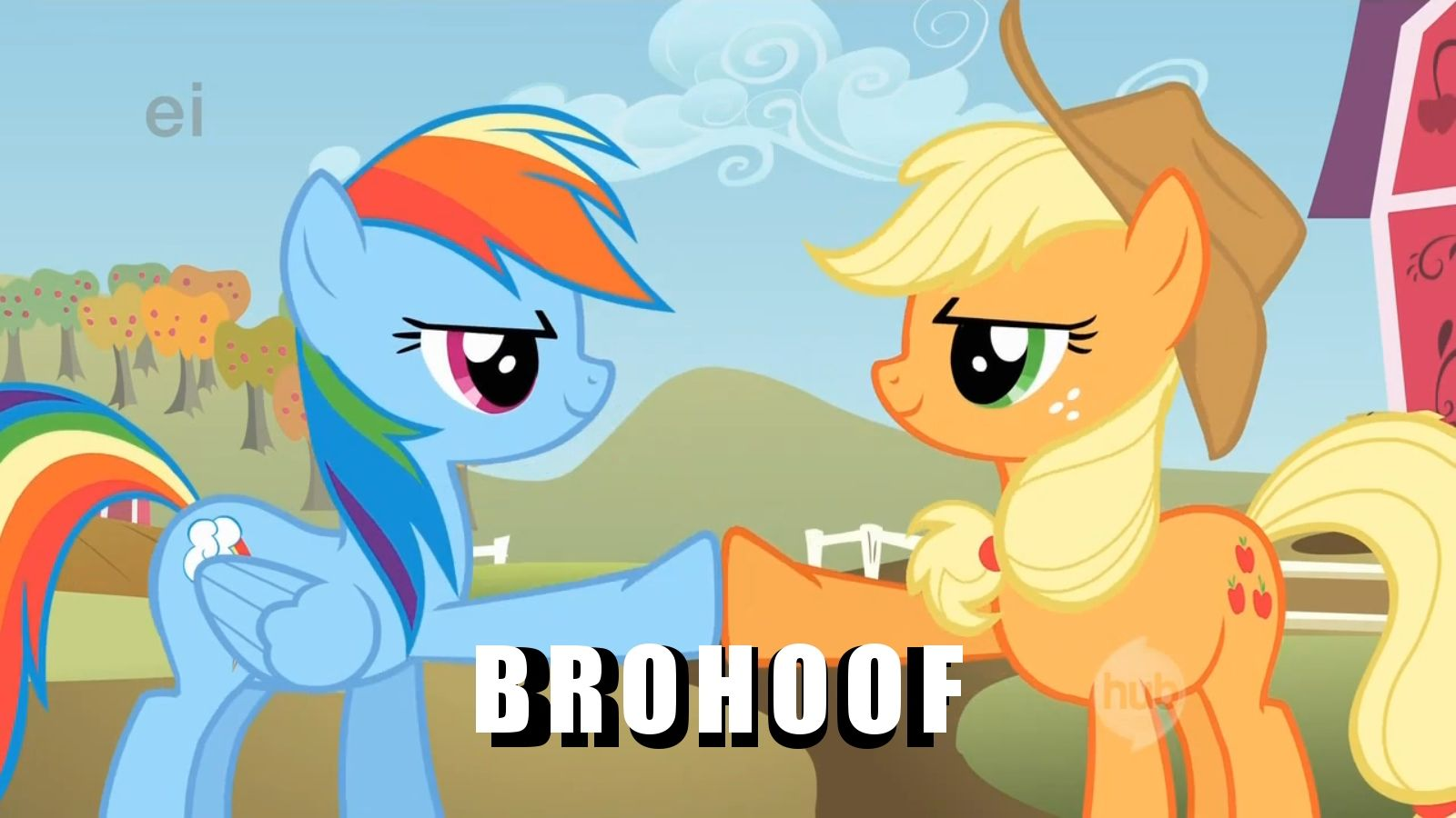 Brohoof!
