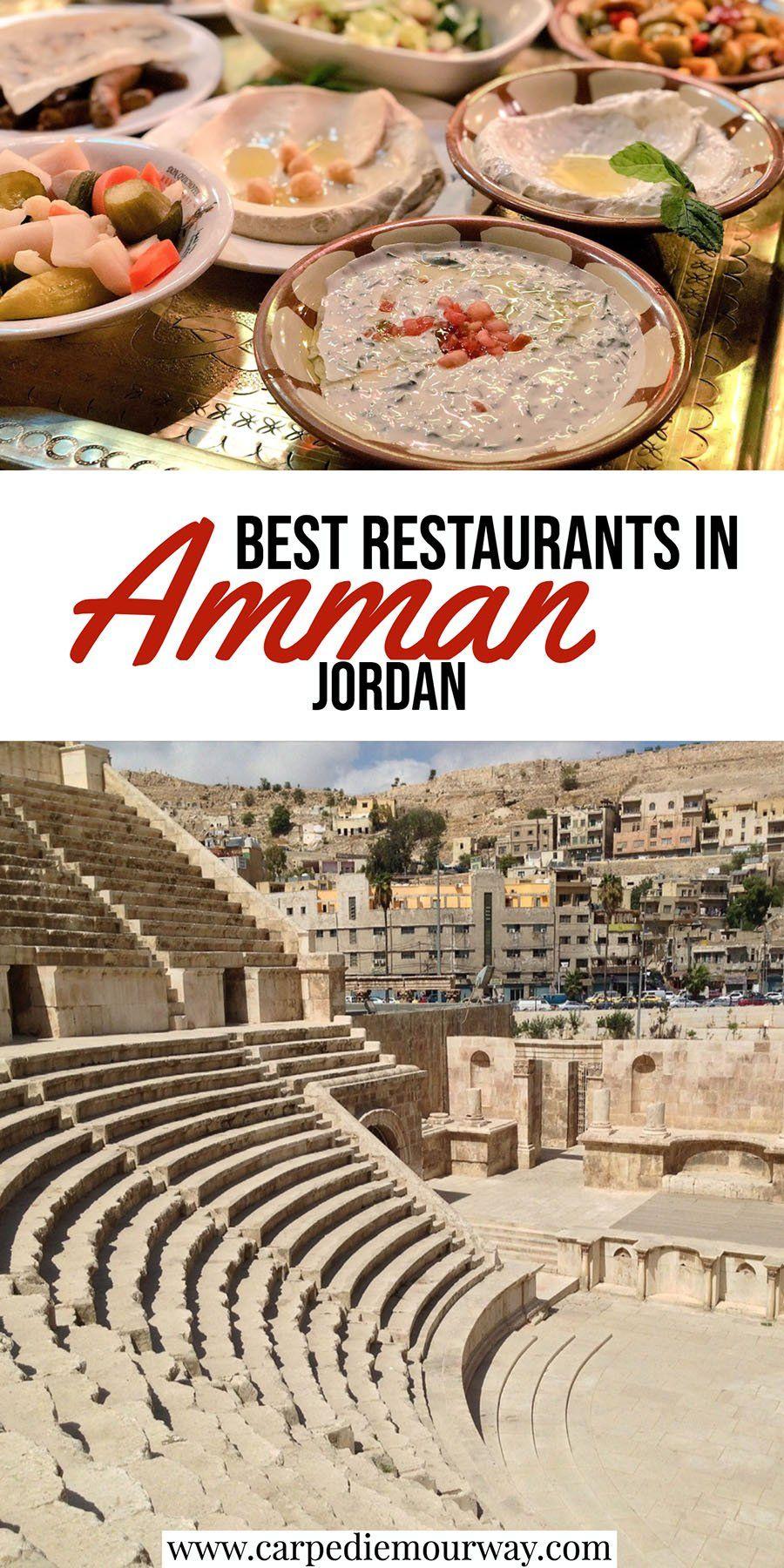 Best Restaurants in Amman Jordan | Carpe Diem OUR Way Travel #ammanjordan