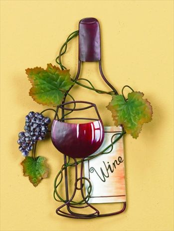 Red Wine Metal Art | For the Home | Pinterest | Red wines, Metals ...