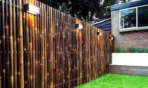 image result for bamboo fencing back yard ideas pinterest. Black Bedroom Furniture Sets. Home Design Ideas