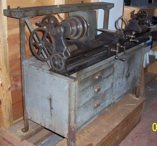 Barnes No. 5 lathe parts