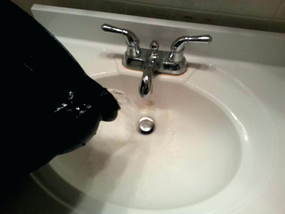 4 Ways To Unclog A Slow Running Bathroom Sink Drain Sink Drain
