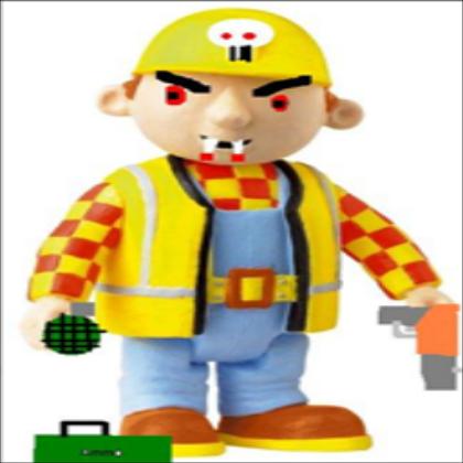 Bob The Builder Zombie Pictures Tremely Evil Bob The Builder Plz Fav A Decal By Torterra899 Bob The Builder Evil Bob