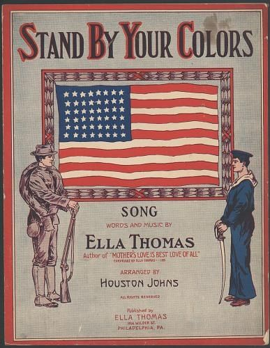 Stand By Your Colors Color Songs American Flag Song Words