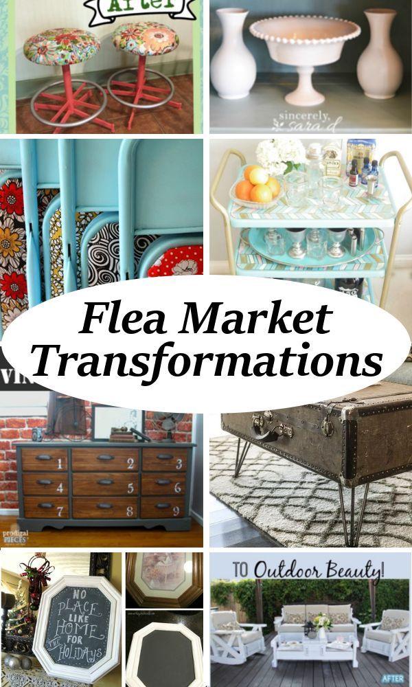 Incredible Flea Market Transformations Diy Projects