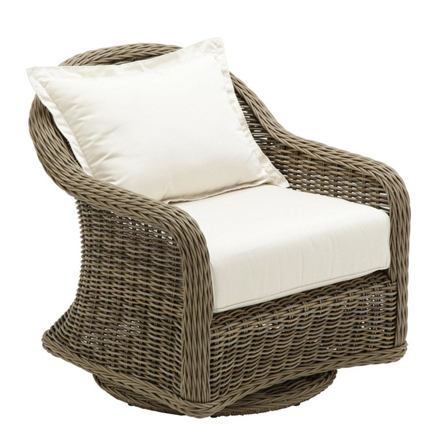Gloster Havana Deep Seating Swivel Glider Lounge Chair