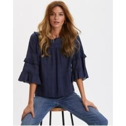 Spring fashion for women -  Delicately Strong Blouse Odd Molly Odd Molly  - #EasyFitness #fashion #F...