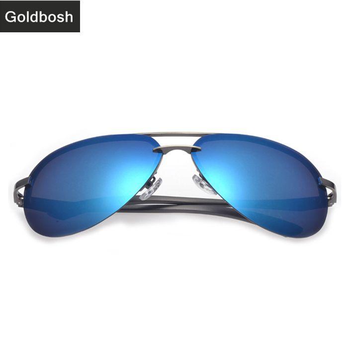 5ccfbcba6f sunglasses aviator mens polarized sunglasses high quality driving glasses  Classic fashion brands designer sun glasses Blue  23.00