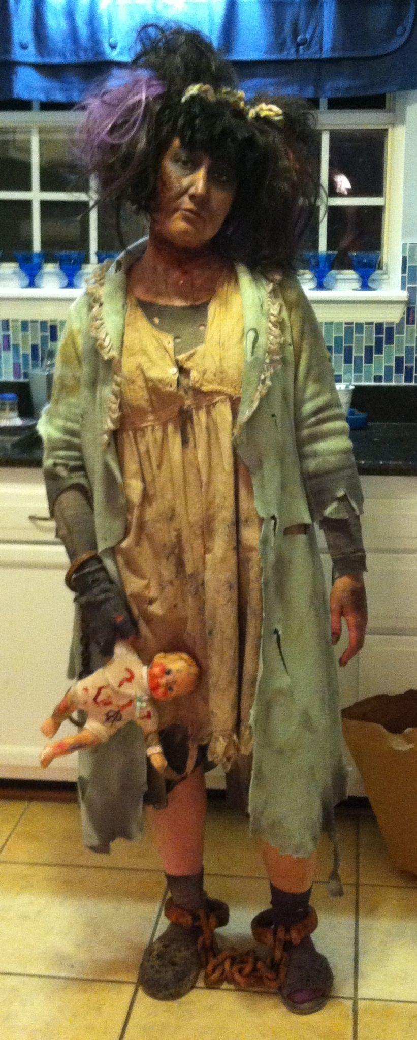 Asylum patient … | Halloween props | Pinterest | Asylum, Insane ...