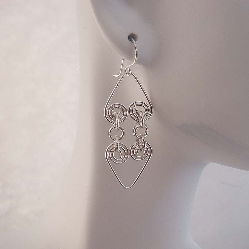 pinterest silver wire jewelry hearts | ... wire wrapped jewelry and necklaces, Classic wire wrapped silver