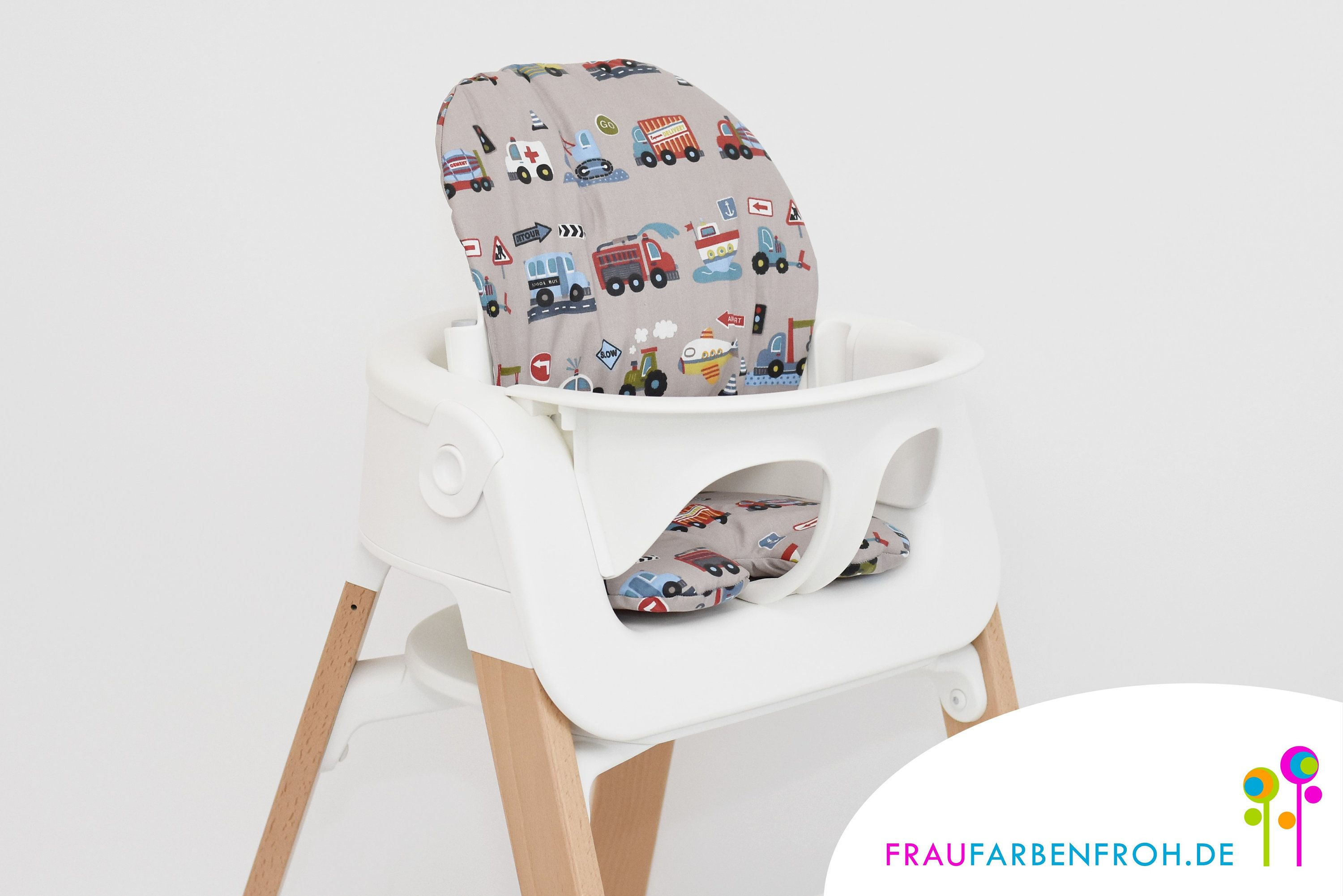 Beschichtet Seat Pillow Set For The Stokke Steps High Chair In