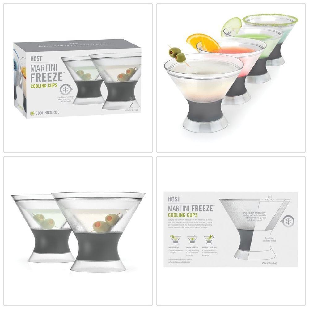 Martini Frozen Cocktails Cooling Cups Glassware Drinking Glass Set