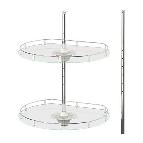 ikea utrusta wall corner cabinet carousel you make maximum use of the corner