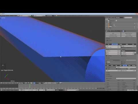 ▷ How to Create a Laser Beam in Blender with the Particle