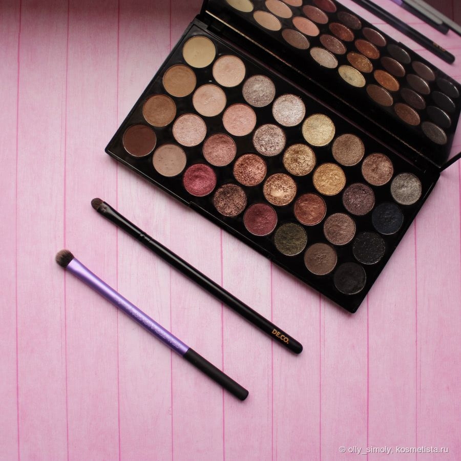 Makeup Revolution Flawless 4 Palette Review & Swatches
