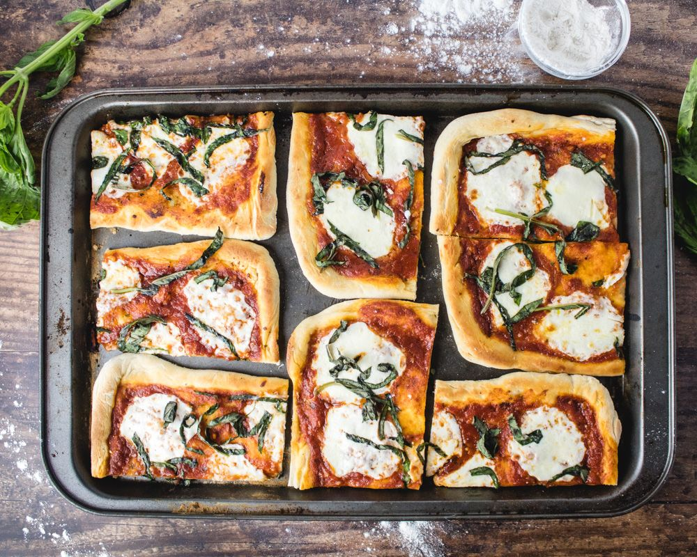 Classic Margherita Flatbread Pizza — More Than You Can